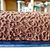 Bûche Chocolat Orange! - LacLac!