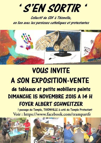 EXPO-VENTE de 'S'EN SORTIR'