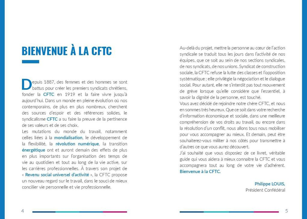 Bienvenue à la CFTC