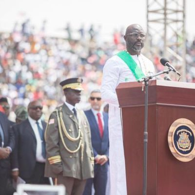Opened letter to Georges Weah, President Of Liberiaz
