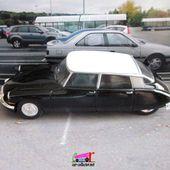FASCICULE N°5 CITROEN DS 19 1964 NOIRE ET BLANCHE UNIVERSAL HOBBIES 1/43 - car-collector