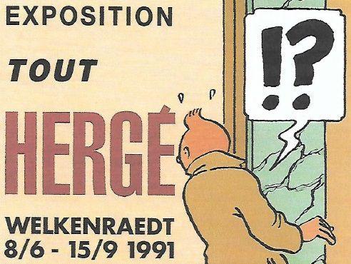 TOUT HERGE, Welkenraedt 1991