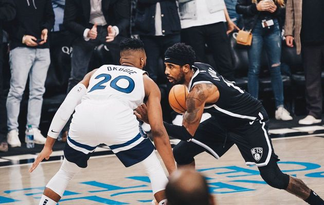 Les Timberwolves résistent à un excellent Kyrie Irving (50 points, 8 rebonds et 7 passes)