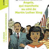 La véritable histoire d'Angela qui manifesta au côté de Martin Luther King. Laurence PAIX RUSTERHOLTZ et Christiane LAVAQUERIE KLEIN - 2017 (Dès 8 ans) - VIVRELIVRE