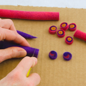Wet Felted Beads - Craftfoxes
