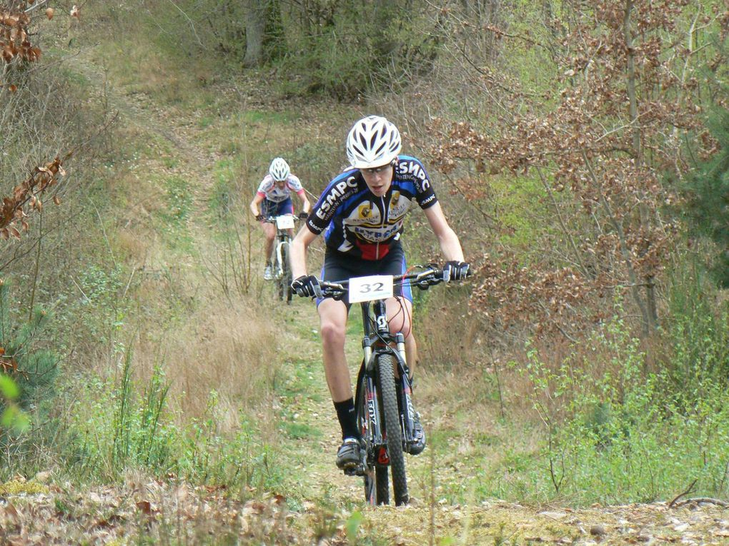 Loïc Sevennec (Anet VC) champion d'Eure et Loir UFOLEP de VTT