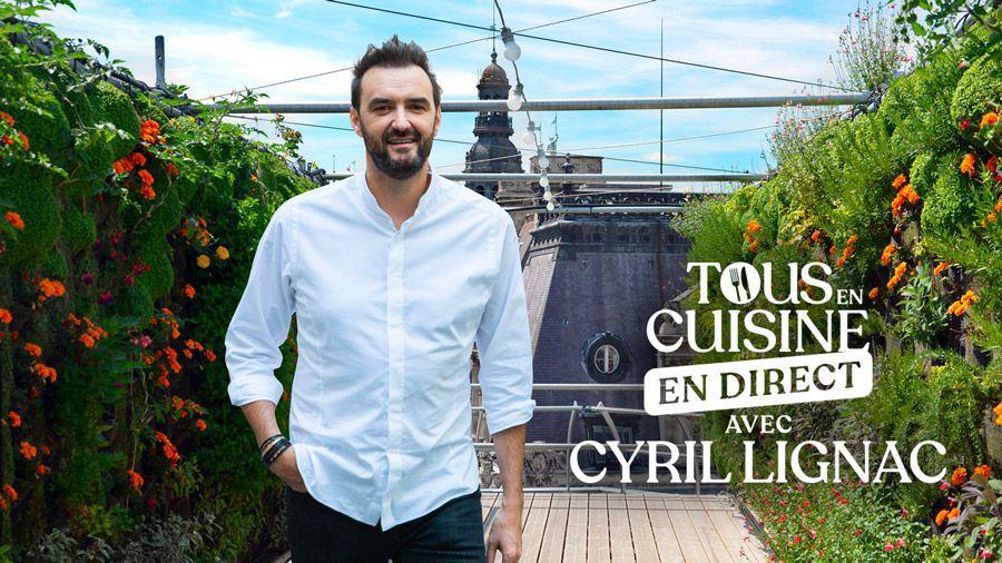 Tous en cuisine avec Cyril Lignac sur M6 - Les ingrédients de ce lundi 30 août (Tarte croustillante de légumes et carpaccio de fruits)