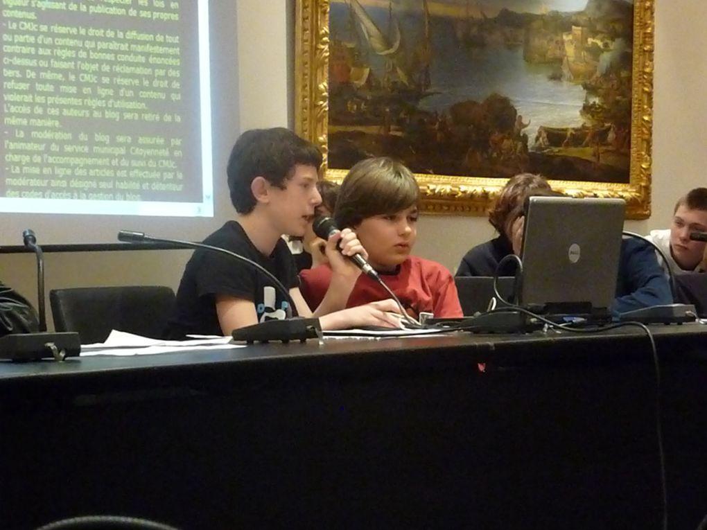 Retrouvez les photos de la deuxième séance plénière qui s'est déroulée le samedi 28 mars 2009.