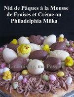Pâques Cuisine Créative: Tarte Fraise/Mascarpone Façon Nid de Pâques ...
