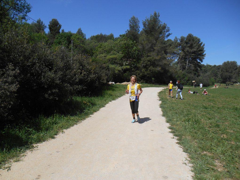 LA FONT DE MAI...11 et 21 kms..Moisson de Podiums