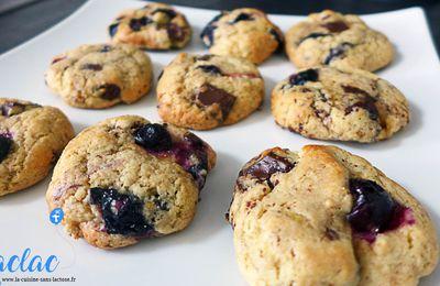Cookies Myrtilles, Érable et Chocolat !