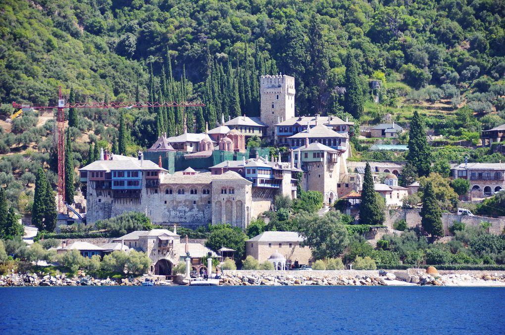 Croisière le long du Mont Athos