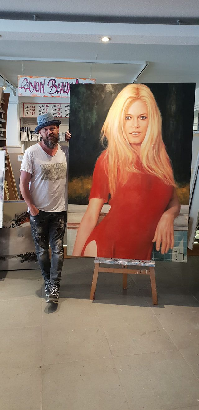 Brigitte Bardot par Christof Monnin