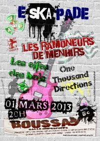 Concert Eskapade Le 1 mars à Boussay