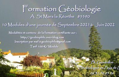 Formation GEOBIOLOGIE 2021-2022