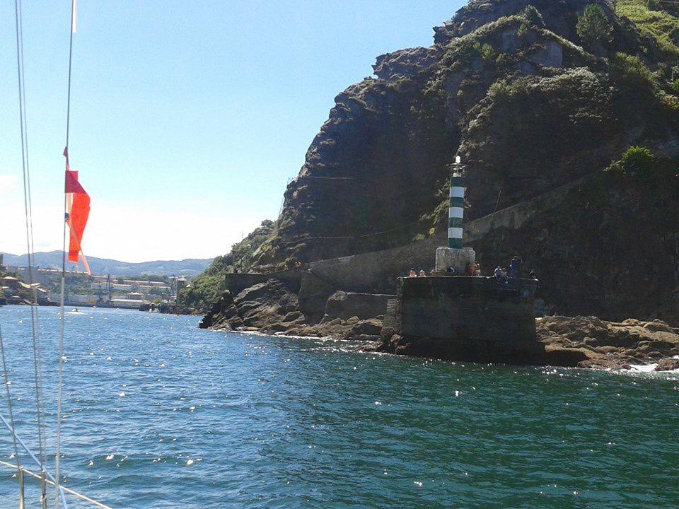 La sortie en voilier  à Pasaia de San Juan - COTE BASQUE