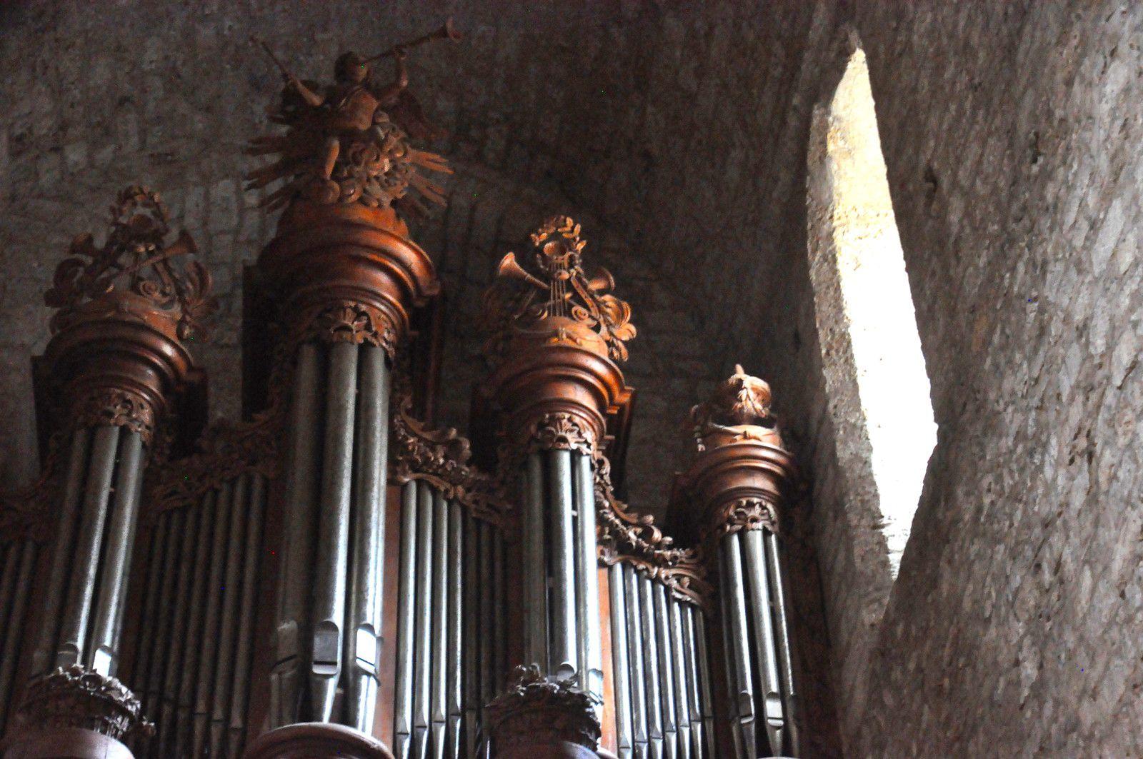 Le grand orgue.