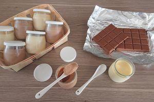 Crèmes au chocolat à la Multidélices de Seb