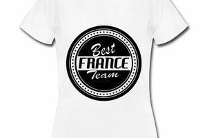 T shirt France Best France Team FBL