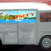 FASCICULE N°96 CITROEN TUB TYPE HY BISCUITS D'ANNECY IXO 1/43. - car-collector.net
