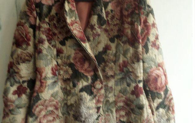 Quelques réalisations : une veste en toile des gobelins