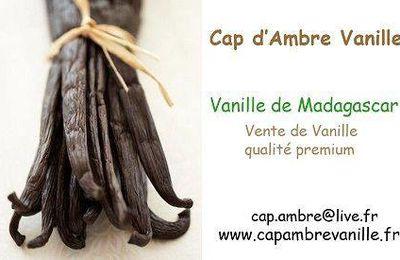 Partenariat Cap d'Ambre Vanille