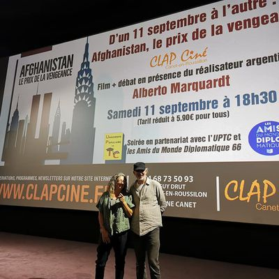 Alberto  Marquardt de prisonnier politique, à réalisateur de documentaire, un œil sur un monde de combattants!  interviews et vidéos par Nicolas Caudeville