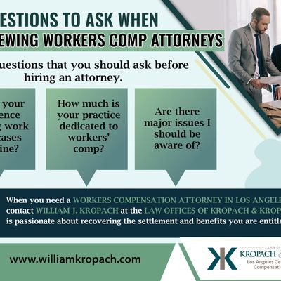 Key Questions To Ask When Interviewing Workers Comp Attorneys