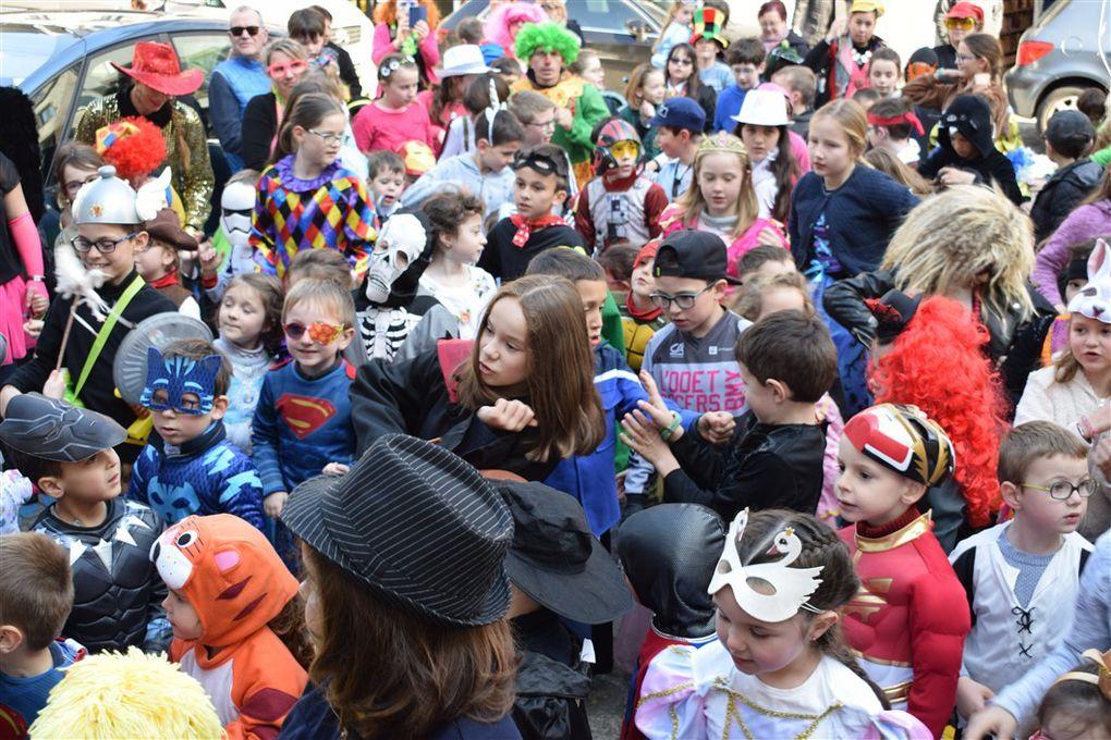 Mi-Carême, Carnaval et déguisements....