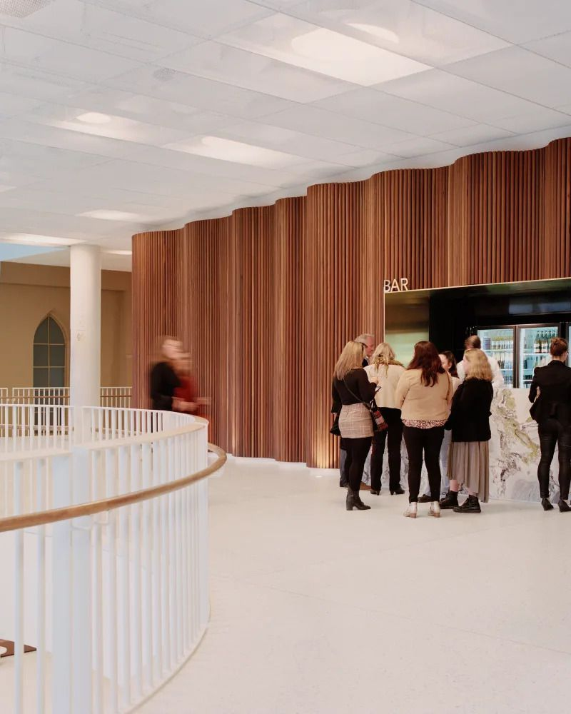 GEELONG ARTS CENTRE IN AUSTRALIA, DESIGNED BY HASSELL STUDIO