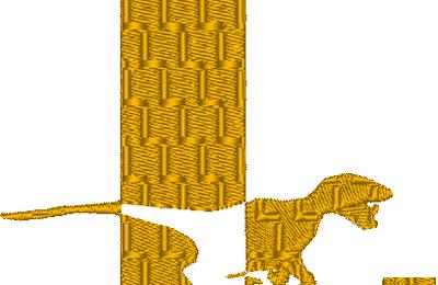 ABC dinosaure, la lettre L