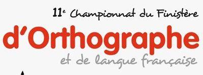 """""""La mer"""", thème du championnat du Finistère d'orthographe et de langue française 2015"""