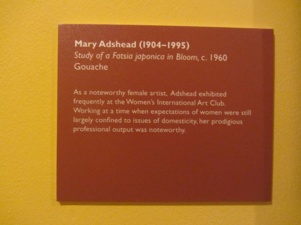 Une gouache de Mary Adshead très inspirante pour un futur appliqué en patchwork associé à de la broderie.