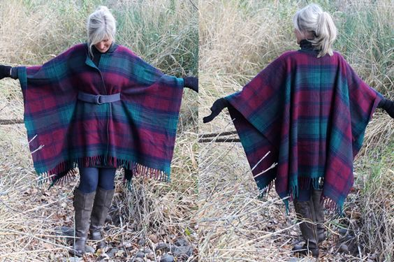 Couture : Tutos capes & ponchos