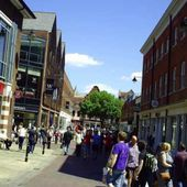 Goldwing unsersbande - les rues de Canterbury
