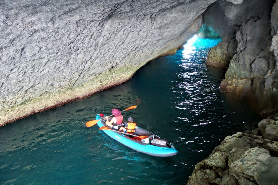 dans la grotta della Maga Circe