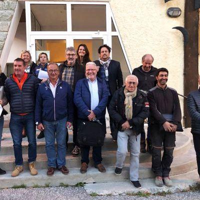 CCAPV : rencontre avec la mairie d'Allos