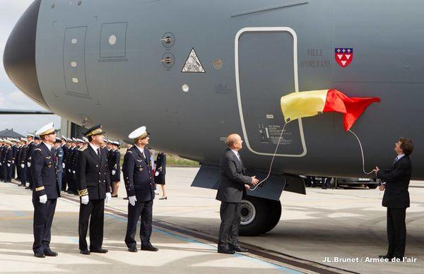 L'Armée de l'Air reçoit officiellement son A400M
