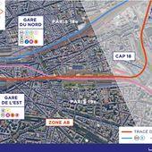 Les travaux du CDG Express : un chantier organisé en huit zones étendues sur 32 km