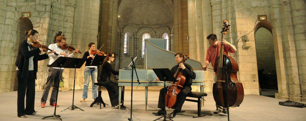 Nouvelle saison musicale à l'Abbaye aux Dames à Saintes