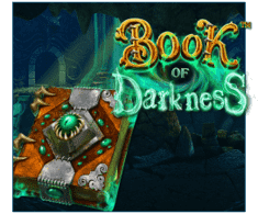 machine a sous mobile Book of Darkness logiciel Betsoft