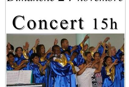 Peltre : Couvent Concert Gospel le 24 novembre 2013
