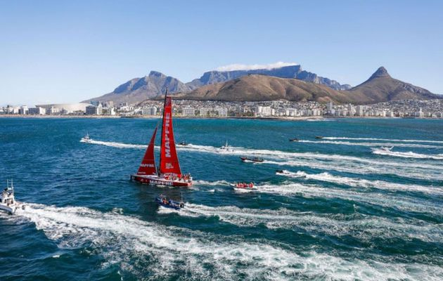Mapfre wins epic Leg 2 of the Volvo Ocean Race