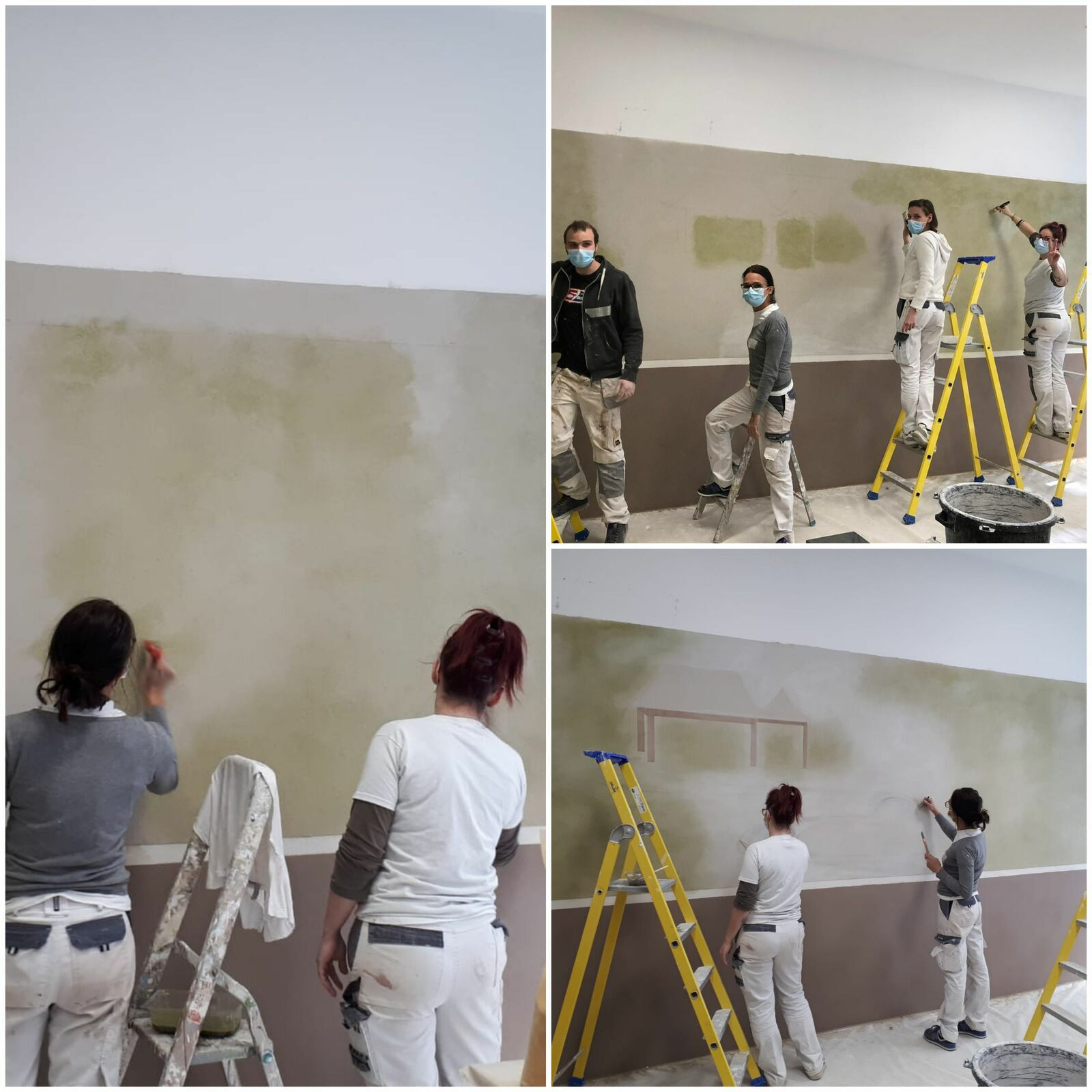 Formation Peintre en décors ~ avril 2021
