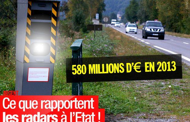 Ce que rapportent les radars à l'Etat ! #radars