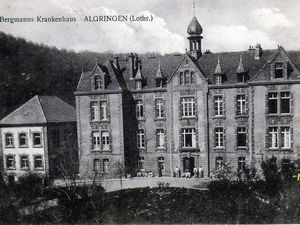 De l'hôpital d'Algrange à  l'E.H.P.A.D. Le Witten