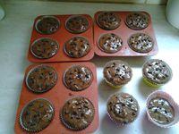 Muffin au chocolat au lait au thermomix