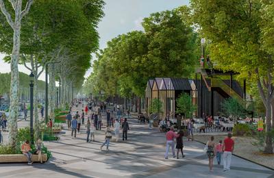 Les Champs-Élysées du futur !