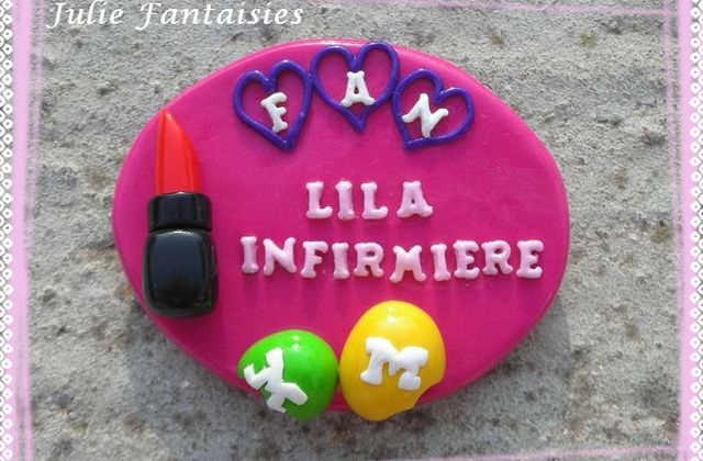 Badge gourmand et girly !