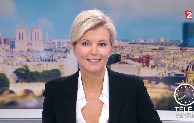 ESTELLE COLIN pour LE JT de 7H30 ce matin @telematin @France2tv #vuesalatele